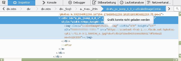 Gelöst Firefox Facebook Keine Bilder Seite 1 Stammtisch
