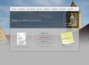 OvMG Schulhomepage